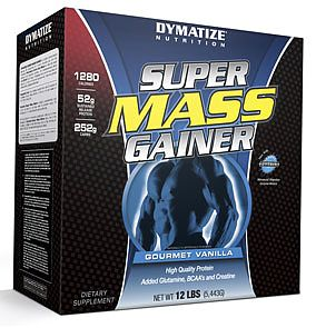 Dymatize super Mass Gainer 12 Lb Choix d'arome