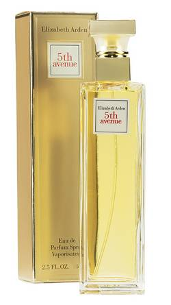 Promotion Elisabeth arden 5th avenue Eau de parfum femmes spray 125 ml