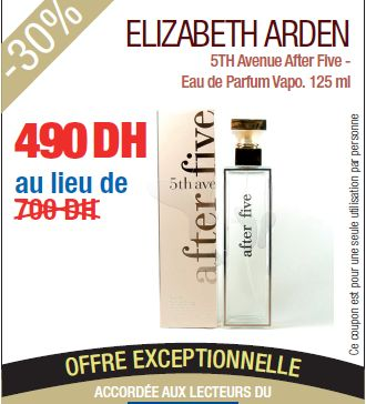 Elizabeth Arden 5TH Avenue After Five - Eau de Parfum Vapo.125ml