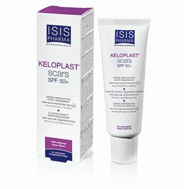 Isispharma  KELOPLAST scars (SPF 50+) Crème réparatrice effet pansement