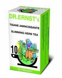 Dr ernst 39 s tisane amincissante 20 filtrette for Tisane amincissante