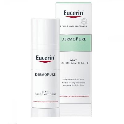 Eucerin Dermopure MAT Fluide matifiant pour peau acnéique