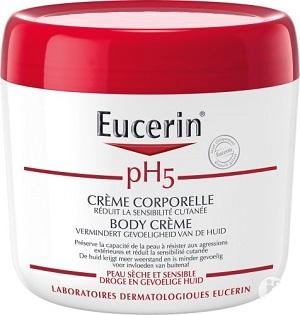 Eucerin pH5 Crème corporelle pot 450ml