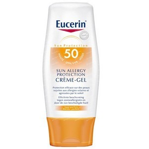 EUCERIN SUN LEB allergy Protection 50 - Texture gel crème