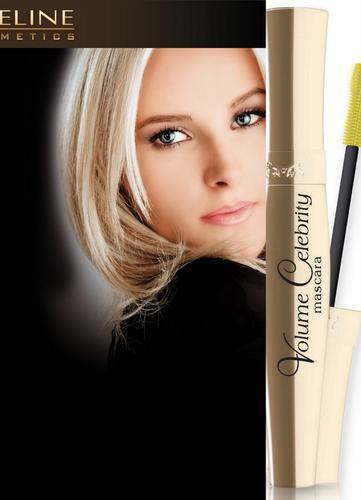 Eveline Cosmetics Volume Celebrity Mascara brossette en silicone