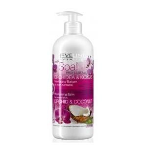 Eveline baume hydratant corporel pour peau sèche à très sèche à l'extrait d'orchidée et coco 500ml
