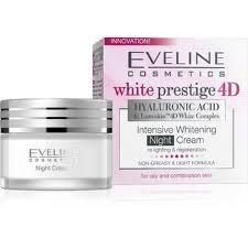 Offre Eveline white prestige 4D crème de nuit peaux mixtes 50 ml