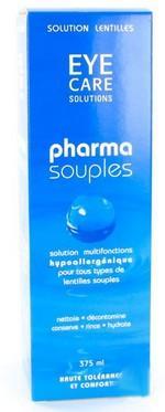 Eye Care Pharma Souples Solution Entretien Lentilles hypoallergénique 375ml