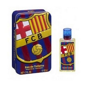 Air-Val FC Barcelona Eau de toilette 50ml Metalic set Réf : 5538