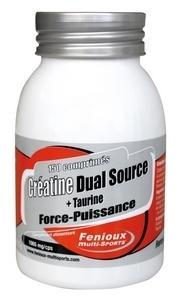 Fenioux creatine dual source+ taurine 120 gélules
