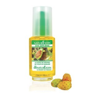 NaturEsoin anti-ride  soin à l'huile de graines de figue de barbarie 50 ml