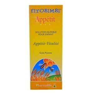 Fitobimbi Appétit Solution Buvable gout pomme 200ml