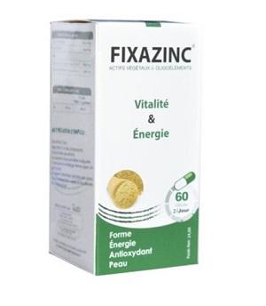 Fixazinc vitalité et énergie 60 Gélules