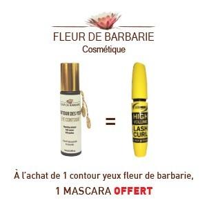 Fleur de barbarie sérum contour des yeux 10ml = Mascara offert