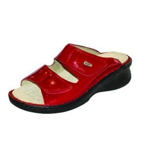 Footcare Sandales diabétiques rouge
