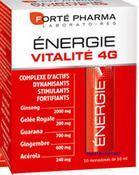 Forté pharma Energie Vitalité 4 G 10 unidose de 10 ml goût Miel-Orange