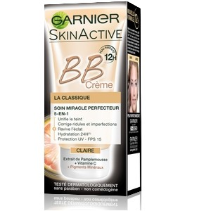 GARNIER SkinActive BB crème Classique soin miracle Perfecteur 5 en 1 Extra-light (40ml) 3600541526662
