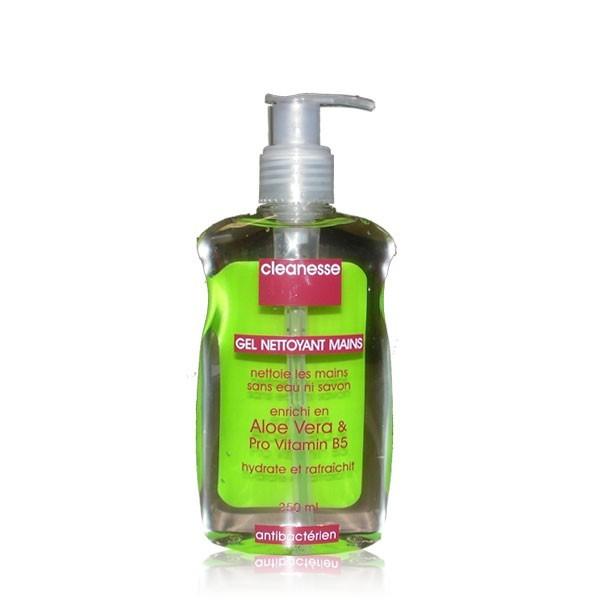 CLEANESSE gel nettoyant mains antibactérien 250ml
