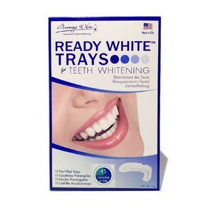 Beaming white Gouttière de blanchiment des dents Ready white trays
