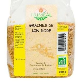 Primeal graines de lin doré 500g