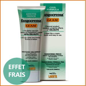 GUAM FANGOCREMA - Crème Effet FRAIS 250ml - Anti-Cellulite