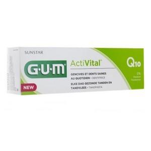 G.U.M Activital Q10 Dentifrice (Gencives et dents saines au quotidien) 75ml