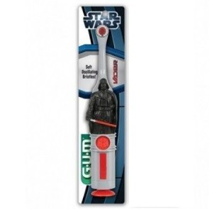 GUM Star Wars Brosse à dents Electrique 4020 DARK VADOR 6 ans et plus