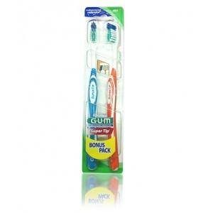 G.U.M pack Bonus pack 2 brosse à dents super tip