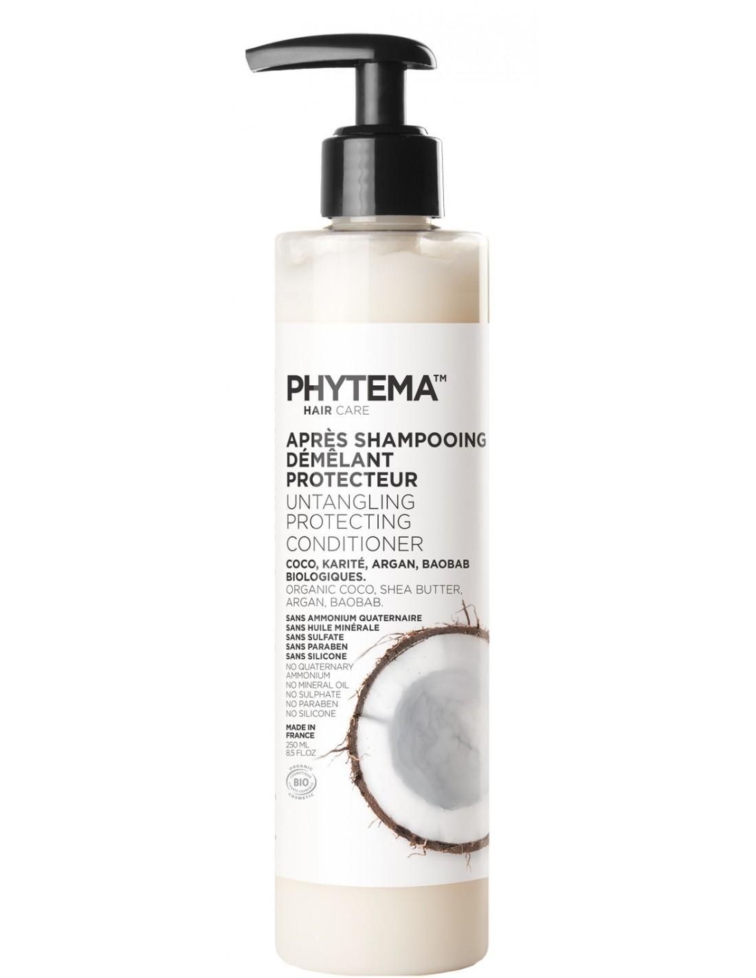 Phytema Après Shampoing Démêlant Protecteur 250 ML 3760054010062