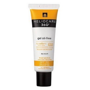 Heliocare 360° gel oil free toucher sec protection solaire spf50
