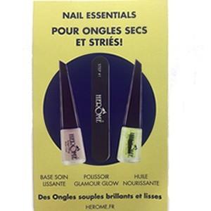 Offre Kit Essential Ongles Ongles Secs et striés
