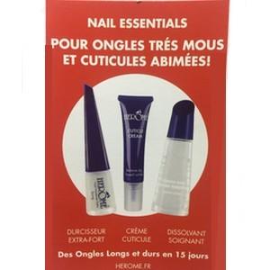 Offre herôme Kit Essential Ongles Très Mous et Cuticules Abîmées