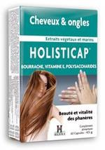 Holistica holisticap cheveux et ongles 60 capsules