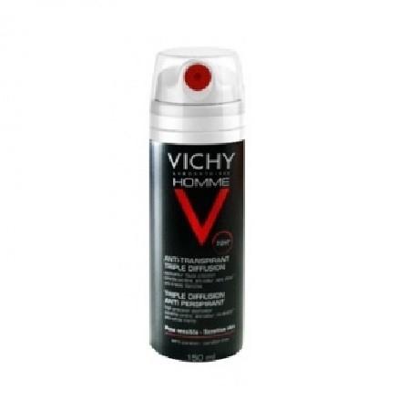 Vichy Homme 72 h Anti-transpirant Triple Diffusion - 150 ml