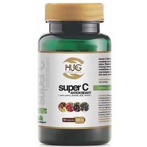 HUG your life Super C antioxydant 60 capsules 500mg