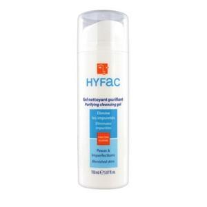 Hyfac gel nettoyant dermatologique visage et corps(150 ml)