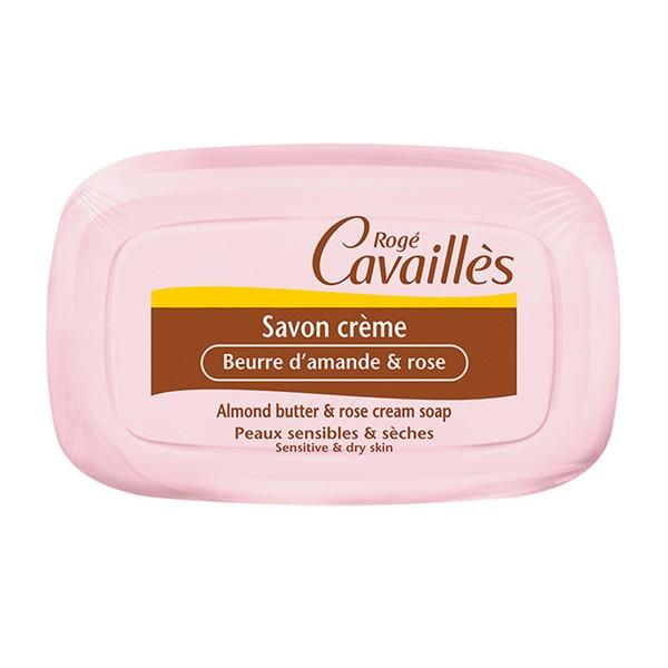 Rogé Cavaillès Savon Crème Amande & Rose 115G