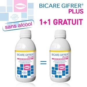 Pack Bain de Bouche BICARE PLUS 250 ML 1+1 GRATUIT