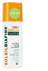 Soleil Biafine Lait spray Haute Tolérance SPF 50+  (200 ml )
