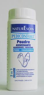 NaturEsoin Pediconfort Poudre Assechante Pieds- Chaussures 80g