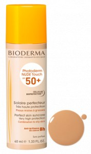 Bioderma photoderm NUDE Touch SPF 50+ Teinte claire