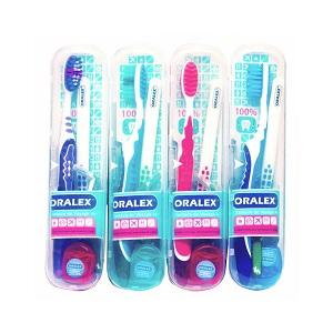 Oralex kit Dentaire de voayge 4 en 1