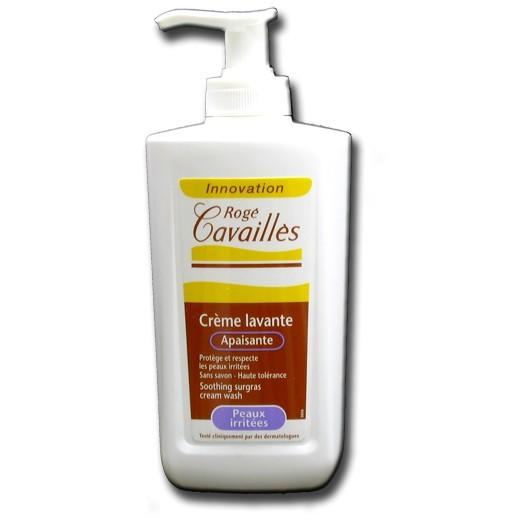 Roge Cavailles Crème Lavante Apaisante pour Peaux Irritees 300 ml