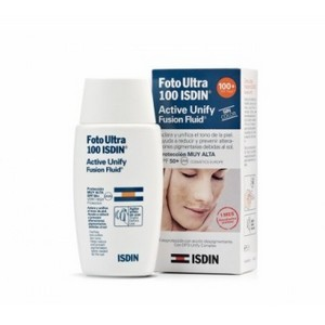 Isdin Foto Ultra 100 Ecran solaire Active Unify Color 50 ml