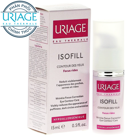 Uriage Isofill Soin Focus Rides Yeux 15ml