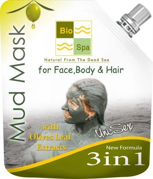 Bio Spa Masque de boue 3 en 1 avec extrait de feuilles d'olivier 75gm
