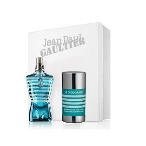 Coffret Jean Paul Gaultier le male Eau de Toilette Vaporisateur 75 ml + Déodorant stick sans alcool 75 g
