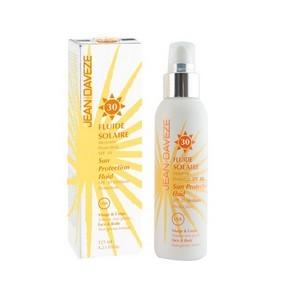 JEAN D'AVEZE Fluide solaire SPF30 - visage &corps 125 ml