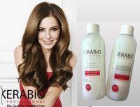 kerabio kit de lissage brésilien à la kératine volume professionel (1 litre shampooing+ 1 litre de solution lissante)