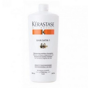 Bain Satin 1 - Shampooing Nutritive 1L - Kérastase